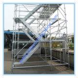 Système d'échafaudage passager SGS sécurisé pour la construction
