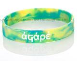 Braccialetto Mixed ecologico Sw04 di modo del silicone di colore