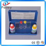 Kit d'essai rapide de l'eau de syndicat de prix ferme de kits d'essai de l'eau de la piscine pH