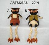 """7 """" Hx5 """" l стоя украшение Owl-2asst. Halloween"""