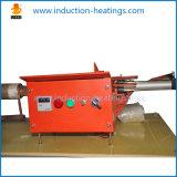 fornace del riscaldamento di induzione di pezzo fucinato della barra 80kw con la macchina di refrigerazione dell'acqua