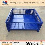 Клетка Stillage ячеистой сети промышленного складного хранения пакгауза стальная штабелированная