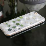 Schitteren de Galvaniserende Sterren van Hotselling Zacht Geval TPU voor iPhone 7/6s/6