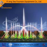 Tipo decorativo fuente de la combinación del parque de la música