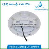 Lámpara subacuática llenada resina del LED