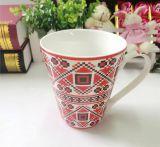 Taza de café impresa aduana de cerámica barata de la aduana 14oz