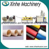 PVC Single-Screw 플라스틱 관 생산 라인 Single-Wall 물결 모양 관 밀어남 선/50-110 mm