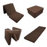 Espuma suave cómodo colchón que acampa plegable