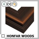 Классицистическая картинная рамка Brown лоснистая деревянная