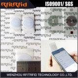 Etiqueta antirrobo inalterable de ISO14443 pequeña NFC