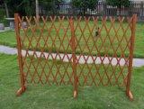 Treillis s'élevant croissant en expansion de panneau de frontière de sécurité d'usine de jardin en bois