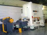 Alimentador automático da folha da bobina com o Straightener e a ajuda de Uncoiler para fazer as peças do condicionamento de ar