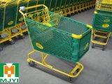 Plastiksupermarkt-bequemer KleinEinkaufswagen