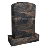 Monumenti commemorativi del granito semplice all'ingrosso di taglio nello stile americano