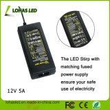 5m 12V SMD5050 RGB LED nicht imprägniern der Streifen-Licht-Installationssatz