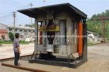 De hydraulische Overhellende Shell van het Staal Smeltende Oven van de Inductie