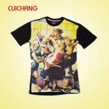 Polo-Hemd-Qualitäts-Baumwollstück-Hemd der Frauen kundenspezifisches (AT-033)