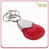 Кожа Keychain плакировкой никеля хорошего качества для людей