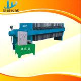 Máquina automática da imprensa de filtro da membrana do controle novo do PLC com sistema de pano de Wasing