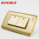 Smart Gold Color PC 1 Gang Wall Switch
