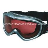 Lunettes protégeant du vent de mobile de neige de lentilles de qualité de Reanson doubles