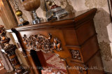 彫刻の照明Elctricのホーム家具の暖房および暖炉(318B)