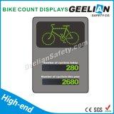Visualización de la cuenta de la bici de la alta calidad con solar accionado