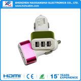 빠른 책임 2 3 포트 지원 USB 차 충전기