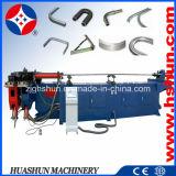 Doblador fácil hidráulico del tubo de la operación de la Solo-Pista