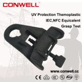 Зажим для подвешивания кабеля для воздушных линий горячего продукта анти- UV термопластиковый для линии LV