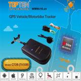 Support de système de recherche du véhicule GPS de moto arabe, langue portugaise et espagnole Gt08-Ez