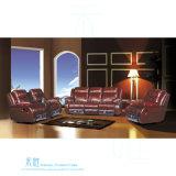 Sofà di cuoio moderno del Recliner per il teatro domestico (DW-6006S)