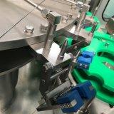La botella de cristal carbonató el agua suave/la embotelladora de la bebida