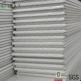 Tarjeta de emparedado de aluminio y de acero del aislante de calor EPS para la albañilería/el material para techos