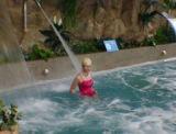Cachoeira da lâmina da água da piscina do aço inoxidável do FL