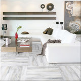 600X600mm Marmorexemplar glasig-glänzende keramische Bodenbelag-Fliese