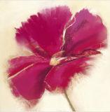 Het nieuwste Tot bloei komende Met de hand gemaakte Olieverfschilderij van het Ontwerp van de Bloem