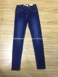pantalones vaqueros negros de las señoras 7.6oz (HY2397-12S)