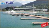 Quai de flottement de marina avec le ponton en acier qualifié