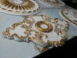 Corniches de plafond de médaillon de plafond de polyuréthane