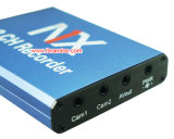 canaleta móvel mini DVR do registrador 2 de Mdvr DVR do cartão de 2CH SD