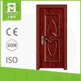 Porte en bois à la maison de bonne qualité de sûreté