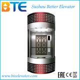 Ascenseur sans engrenages de passager d'observation de Vvvf