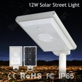 12W alle in einem Solarlicht des straßen-Garten-LED mit PIR Bewegungs-Fühler