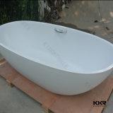 Bañera independiente de resina de piedra Bañera Solid Surface