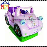 Маленькая голубая езда Kiddie коровы для машины игры качания малышей