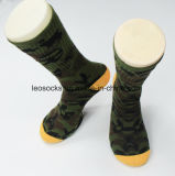 2017 populäre Soldat-Baumwolllange Armee-Socken