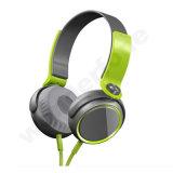 para Sony-Xb400 a linha controle Fone de ouvido-Verde