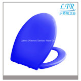 Asiento de tocador redondo de cerámica coloreado del desbloquear rápido