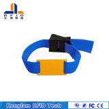 Wristband elegante de alta frecuencia de la correa que teje RFID